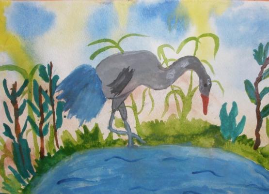 рисование в старшей группе знакомство с акварелью