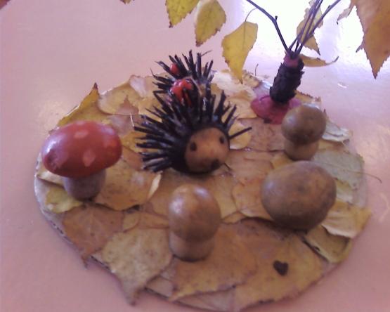 Осенние поделки для кабинета