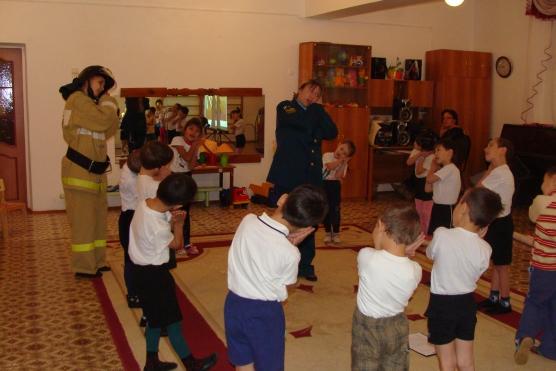 занятия знакомство с профессией пожарного в детском саду
