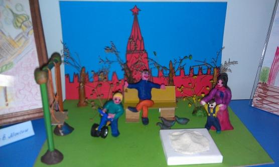 Поделки для детского сада тема город