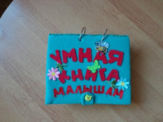 Умная книга для ребенка своими руками