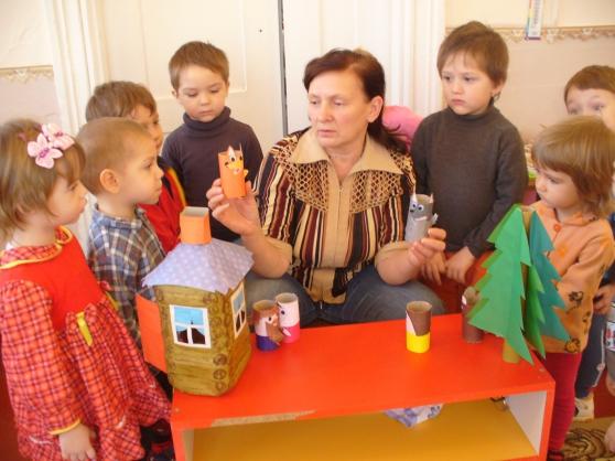 Настольный кукольный театр курочка ряба своими руками 195