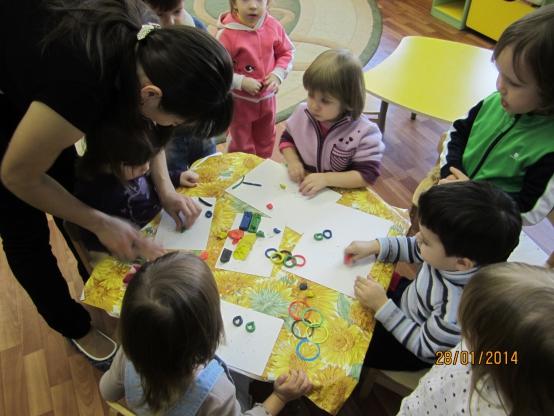 занятие знакомство английский в детском саду