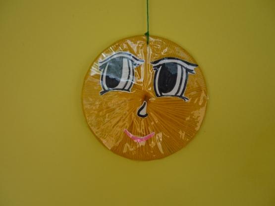 Поделки из дисков на веранду в детском саду 99