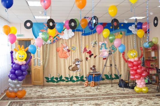 Оформление зала к выпускному фото
