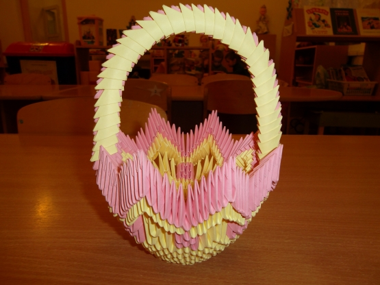модульное оригами схемы сборки корзинки - блог цифровых.