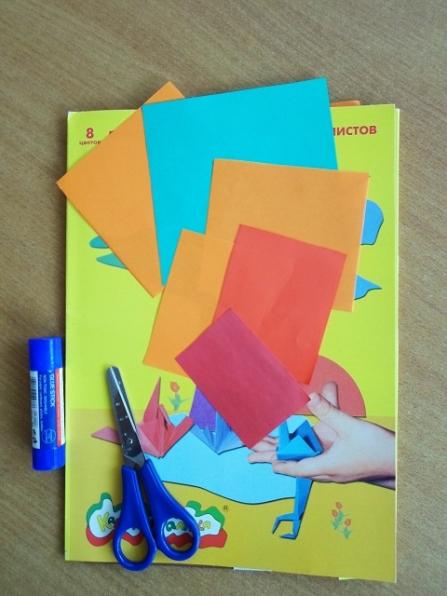 3 класс аппликация лето картинки из бумаги