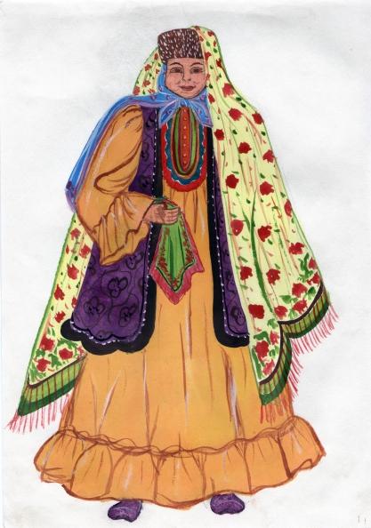 Татарская бабушка картинки детские