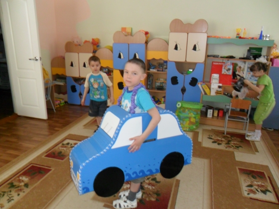 Экомобили для детского сада