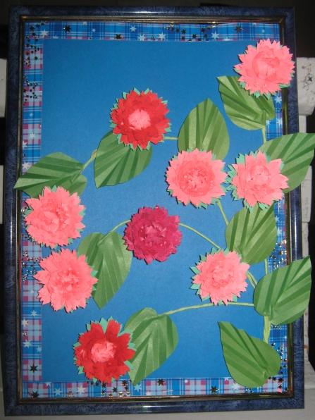 Поделки из бумаги «Цветы»