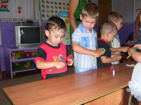 праздник знакомства детей и родителей с группой