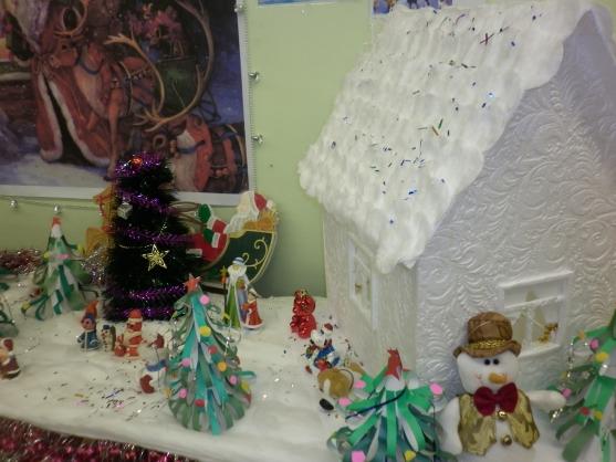Украшение группы в детском саду к зиме своими руками