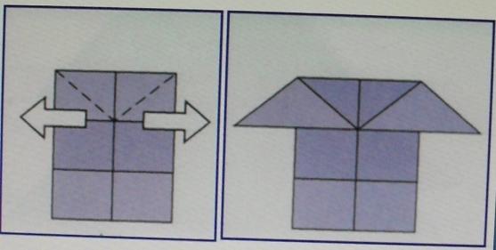 Схема поэтапного складывания