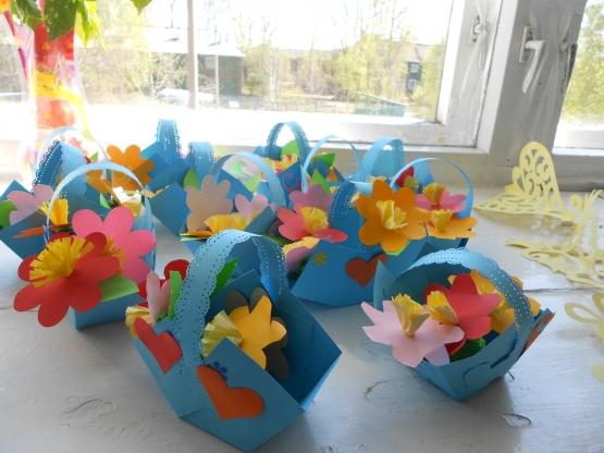 Корзина цветов — букет