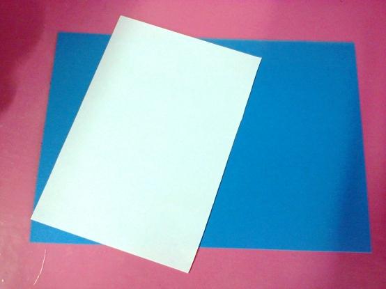 «Берёза». Торцевание на бумаге, бумагопластика