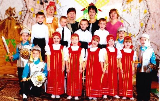 знакомство детей с народной культурой и традициями