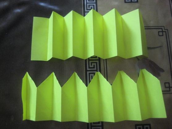 Заборы из бумаги своими руками