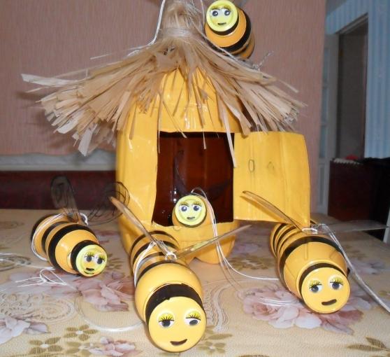 пчела своими руками фото написал, что