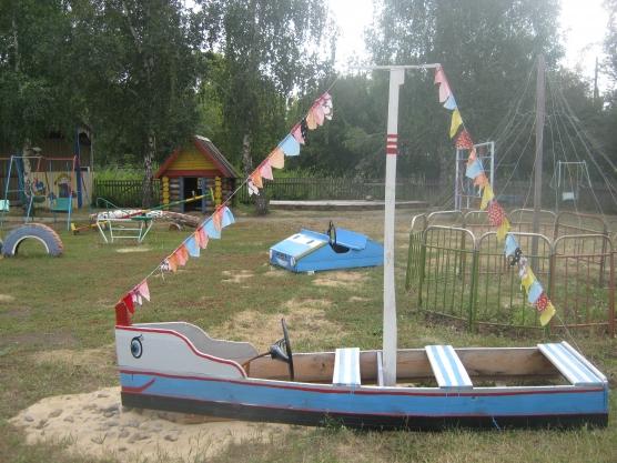 Идеи оформления детской площадки своими руками