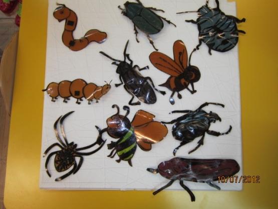 Поделки в мире насекомых