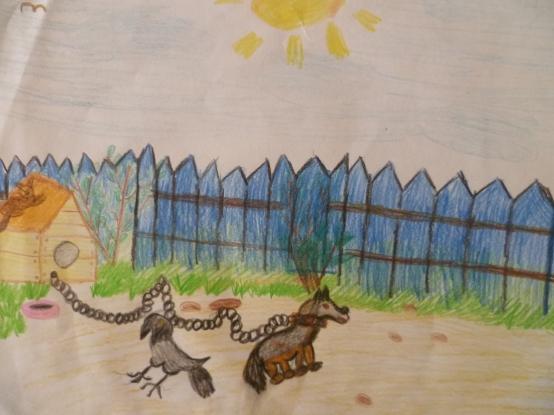 Рисунки на конкурс «Я карандаш с бумагой взял…»