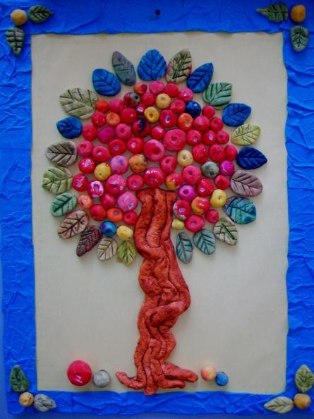 Поделка сказочное дерево своими руками