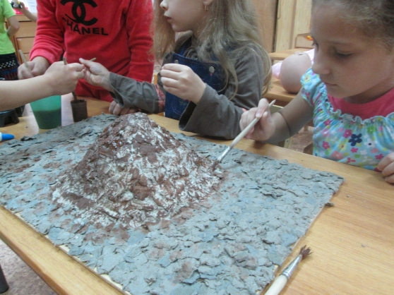 Макет муравейника в детском саду
