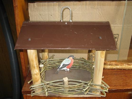 Поделка кормушка для птиц своими руками в садик из пластиковых бутылок