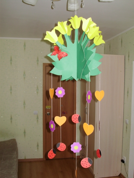 Подвесные поделки для детского сада своими руками