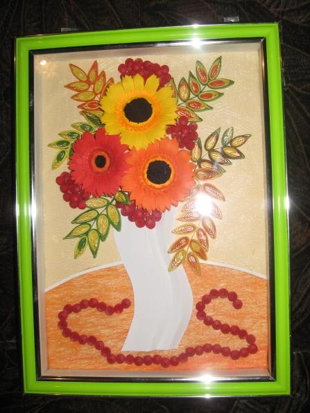 Сделанная, открытки ко дню дошкольного работника своими руками из кленовых листьев