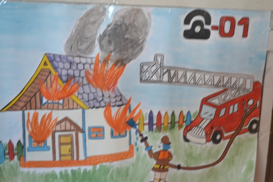 Уголок пожарная безопасность для