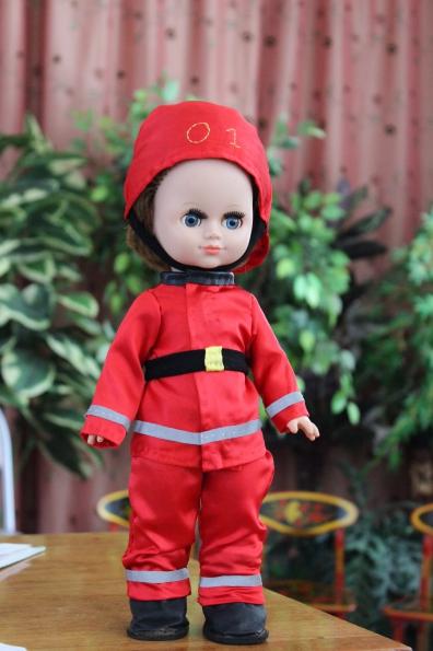 Пожарник кукла сшить
