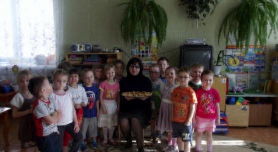 знакомство с профессией повар в детском саду