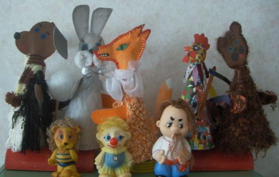 Кукольный театр на основе конусов. - Для воспитателей детских садов - Маам.ру