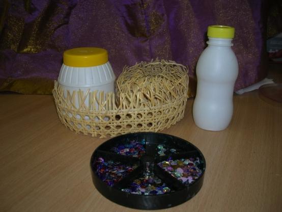 Поделки из использованного материал