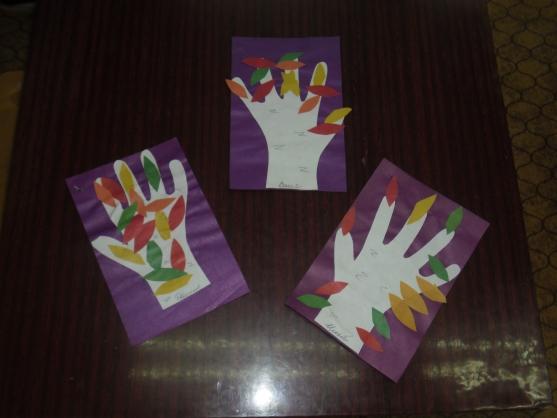 Интегрированное занятие «Деревья и кустарники нашего края. Аппликация (силуэтная) из цветной бумаги «Осеннее дерево»