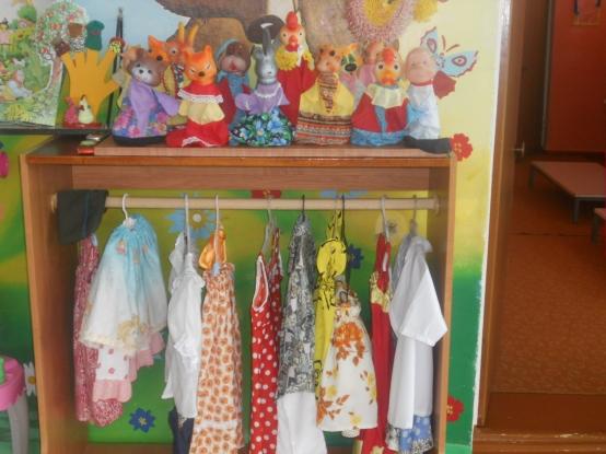 Уголок ряжения для детского сада