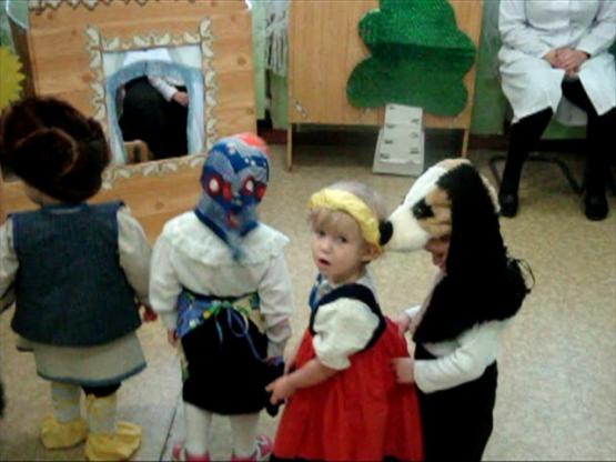 инсценировка сказки репка для детей 4 лет