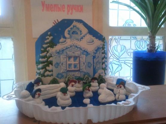 Детские поделки на тему зима в детский