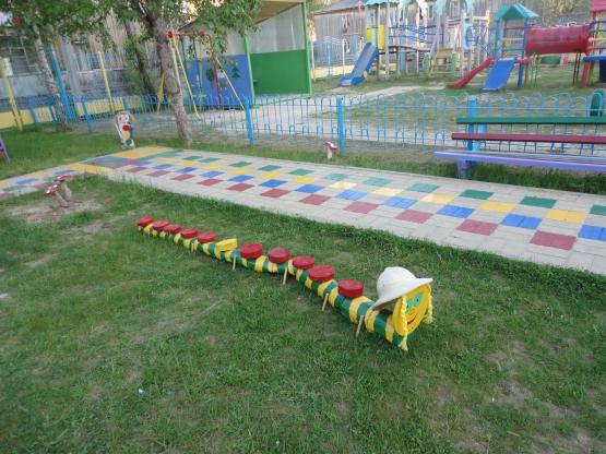 Оформление летнего участка детского сада фото