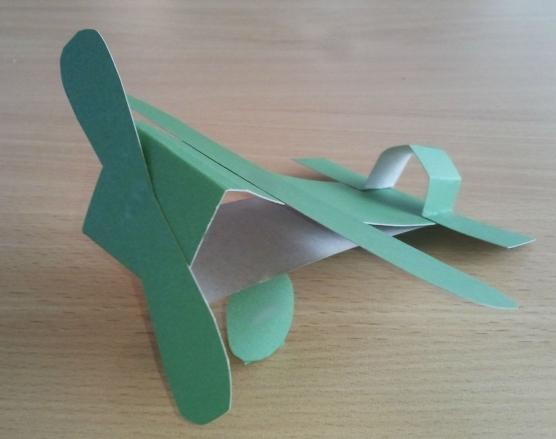 Поделки из бумаги своими руками самолетов