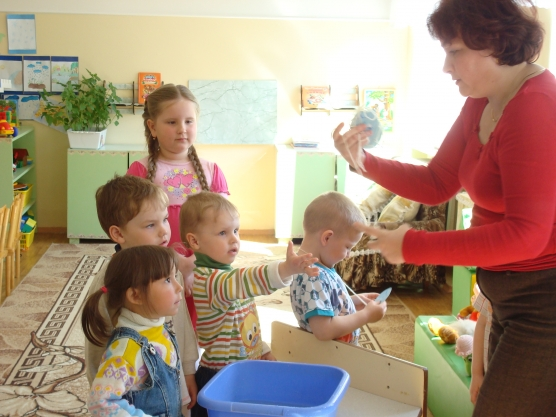 конспект занятия на знакомство с детьми 3 лет