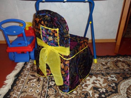 Чехол на стул для детской своими руками 662
