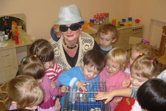 знакомство воспитателя с детьми в детском саду