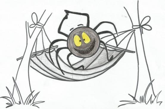 Музыкально-дидактическая игра для детей среднего дошкольного возраста «Паучок и гамачок, зайчик-попрыгайчик»