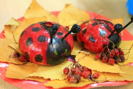 Детские поделки из природного материала своими руками. Осень 64