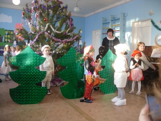 Сценарий новогодней сказки утренника в детском саду для старшей группы 7