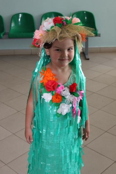 Детские костюмы из бросового материала своими руками