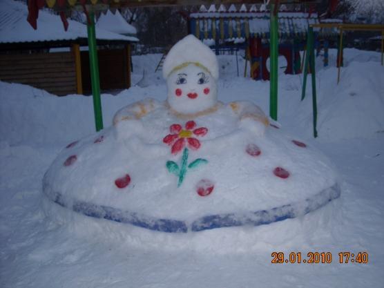 Снежки для детского сада