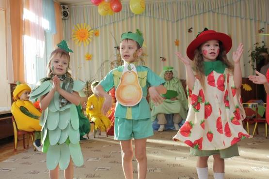 Праздник фруктов в детском саду сценарий
